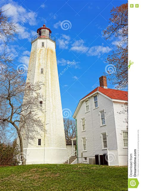 House Of Hook by Hook Light Tower And House Stock Photo Image 72318762