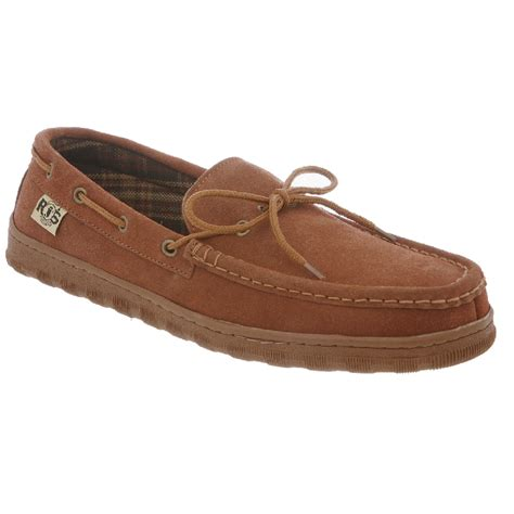 rjs fuzzies slippers rj s fuzzies rjs 209 s unlined leather moccasin