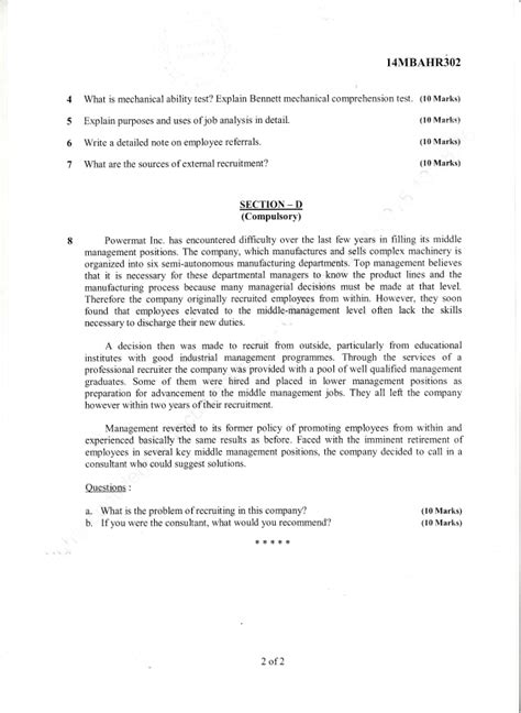 2015 16 Mba 4 Semester Solved Paper by 3rd Semester Mba Dec 2015 Jan 2016 Question Papers