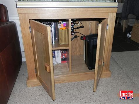 Oak Cabinet Fish Tanks by Custom Handcrafted American Oak Fish Tank Storage Cabinet