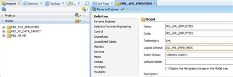 xml tutorial oracle oracle data integrator tutorials reading and writing