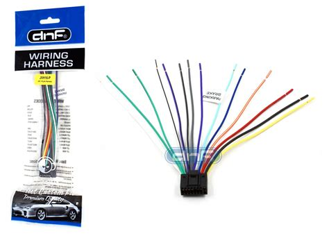 wiring diagram jvc kd sr40 sony stereo wire harness