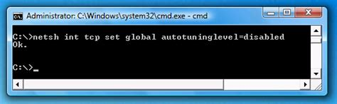 Auto Tuning Windows 7 Network by Fix Problems With Copying Large Files In Windows Vista
