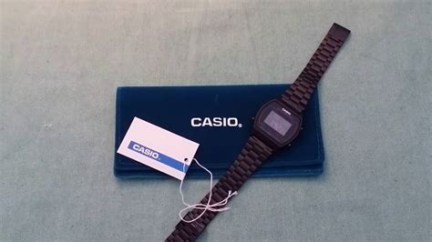casio b640wb 1bef casio b640wb 1bef unboxing review ελληνικό subs