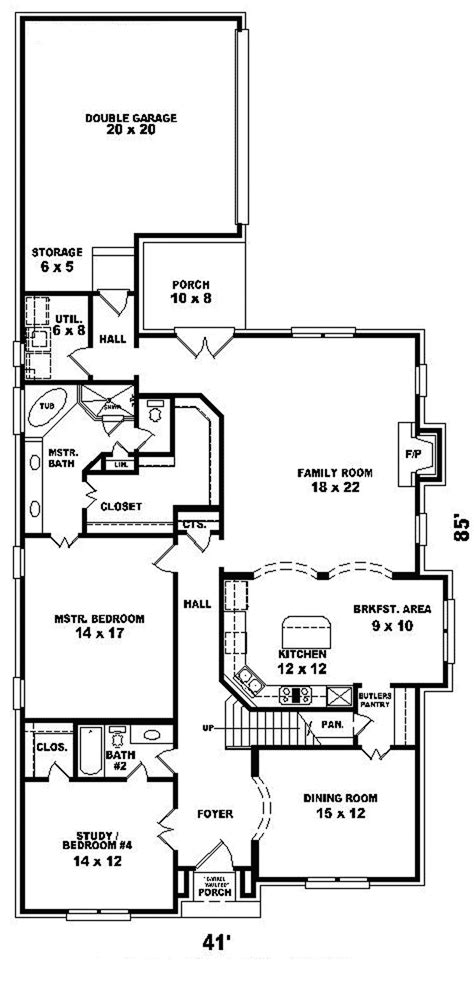 english tudor floor plans trafalgar english tudor home plan 087d 0789 house plans