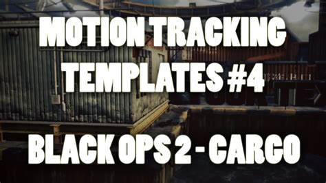 motion track template after effects motion tracking templates 4 black ops 2
