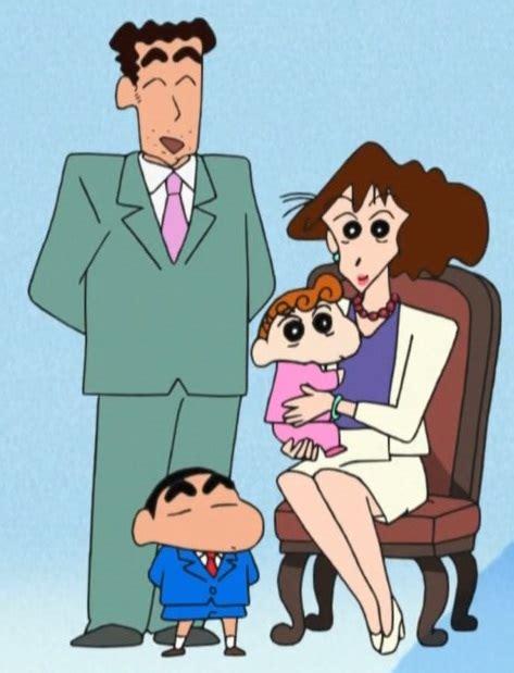 nohara family crayon shin chan wiki fandom powered by