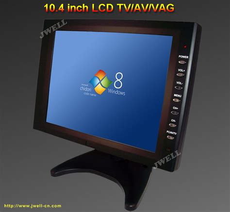 Tv Mobil 10 Inch 10 4 inch tft lcd monitor with vga port j well industrial