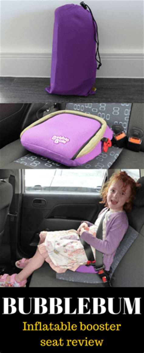 bubblebum booster seat uk travel essentials our bubblebum booster seat review
