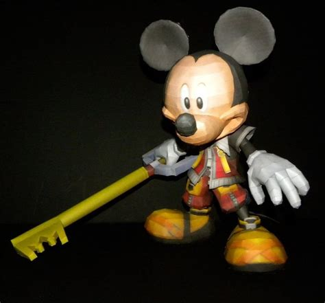 Kingdom Hearts Papercraft - 210 best images about paper crafts on disney
