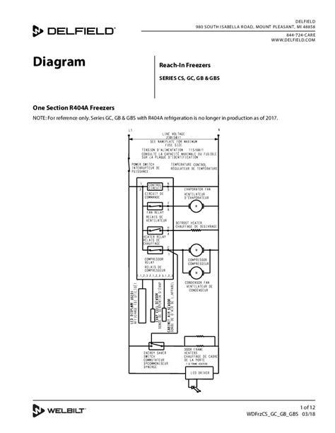 delfield freezer wiring diagram delfield www k