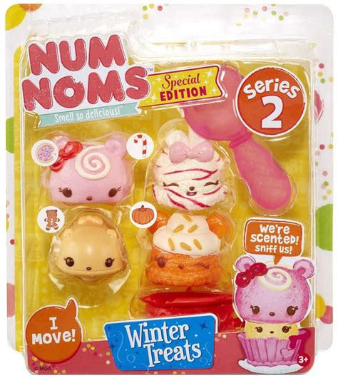 Num Noms Starter Pack Series 4 Cookies And Milk num noms series 2 winter treats starter 4 pack mga entertainment toywiz