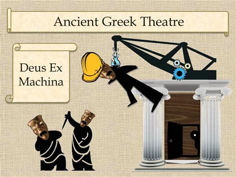 ex machina meaning gypsy daughter essays ancient greek theatre origins of