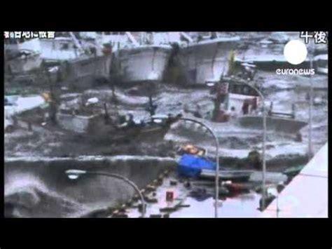 imagenes tsunami en japon japon tsunami une vague g 233 ante de 10 m 232 tres youtube