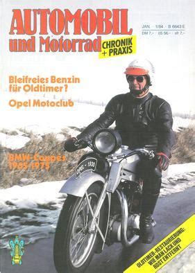 Motorrad News Zeitschrift Erscheinungsdatum by Automobil Und Motorrad Chronik Nr 1 1984 Zwischengas