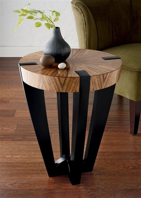 compass side table  enrico konig wood side table