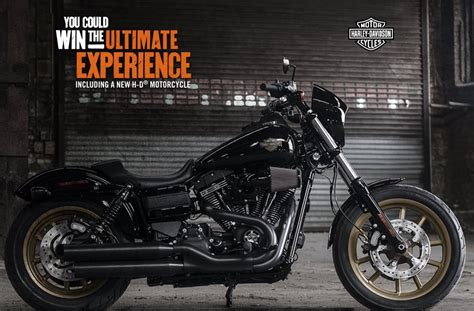 Motorcycle Sweepstakes 2017 - win 1 of 4 2017 harley davidson motorcycles