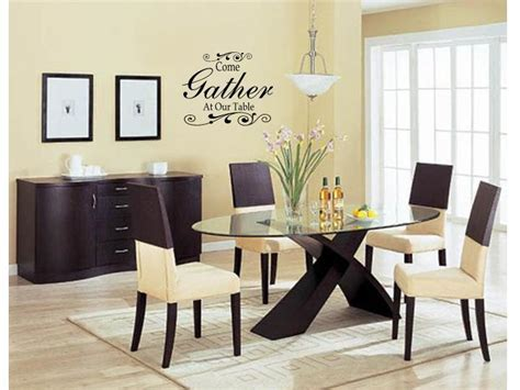 dining room decals come gather at our table wall art decal decor kitchen