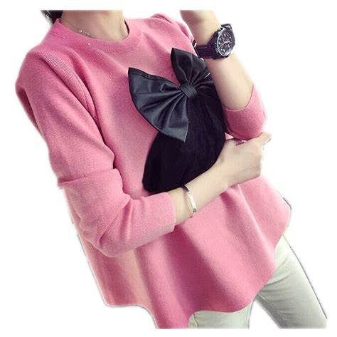 7 Bow Neck Pieces Of Clothing by Sale Maternity Clothing Autumn New Style