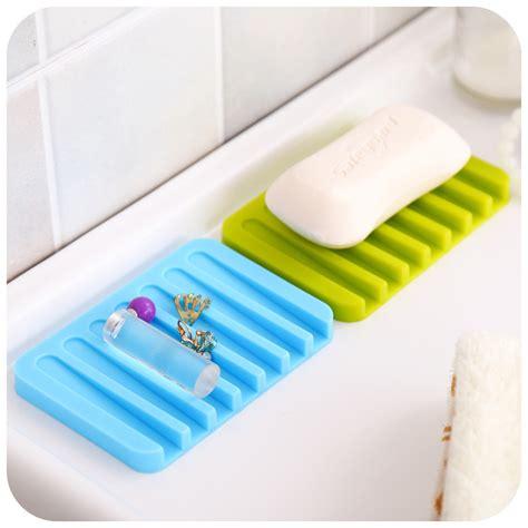 Soap Holder aliexpress buy 2pcs silicone drain soap dish soap