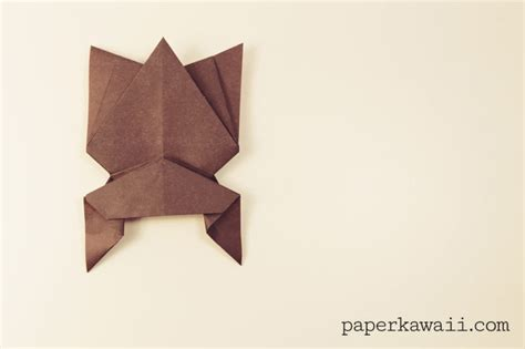 Hanging Origami - hanging origami bat for paper kawaii