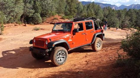 Sedona Jeep Rental At The Seven Pools Picture Of Barlow Jeep Rentals