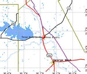three rivers tx 78071 profile population maps