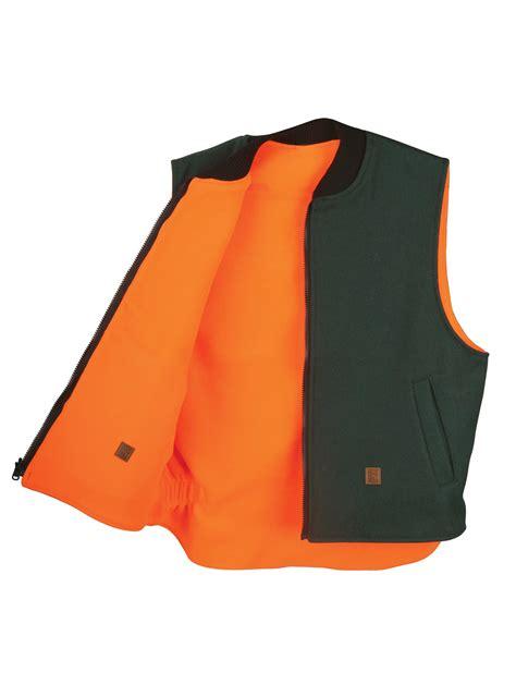 Reversible Vest big bill 24 oz wool reversible vest 614