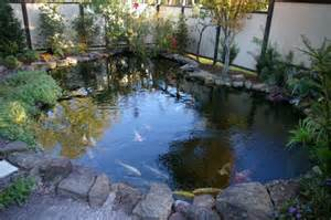 coy fish pond design bookmark 2242