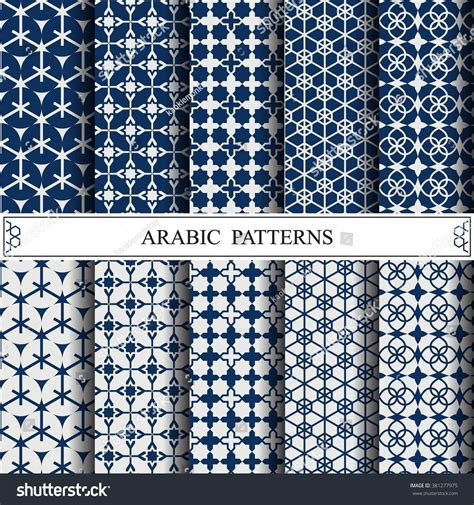pattern fill image svg arabic vector patternpattern fills web page stock vector
