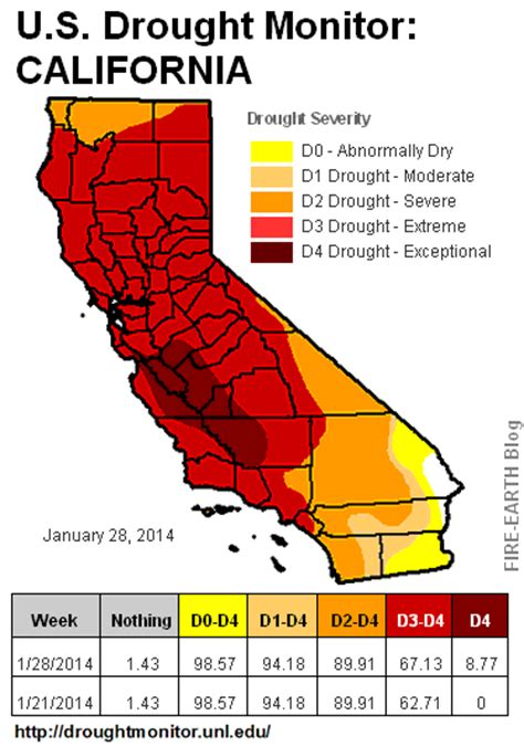 california drought map california drought could paralyze the u s 171 earth