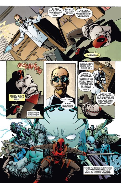 deadpool kills the marvel universe preview deadpool kills the marvel universe 1 bloody