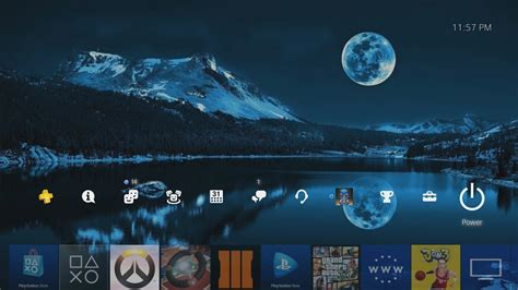 background themes on ps4 how to add a custom background on ps4 youtube