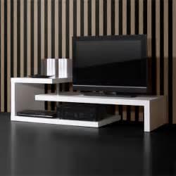 Tv Table Furniture Genesis White High Gloss Multi Purpose Tv Stand 0397 84 Ebay