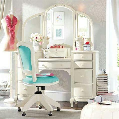 vanity for bedroom for makeup pottery barn teen preteen room pinterest vintage