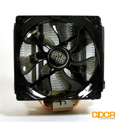 cooler master cpu fan cooler master x6 elite cpu cooler review custom pc review