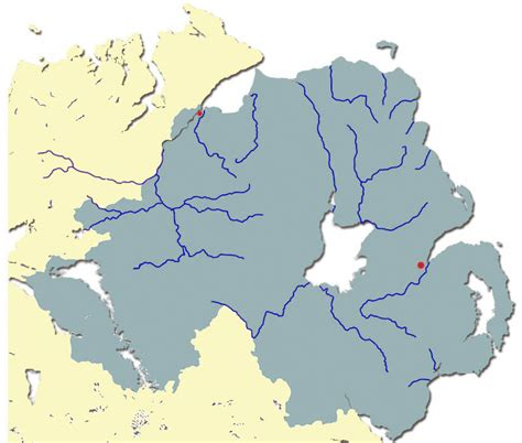 Address Finder Northern Ireland The Atlantic Salmon Rivers Of Northern Ireland