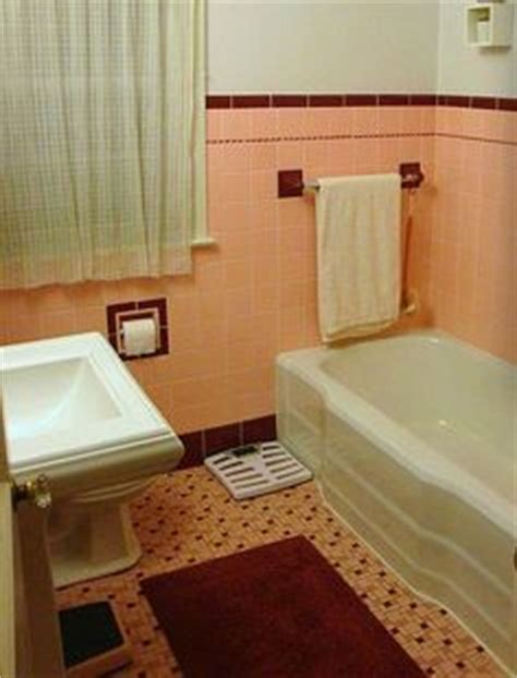 1000 images about bathroom on pink bathrooms 50s bathroom and vintage tile