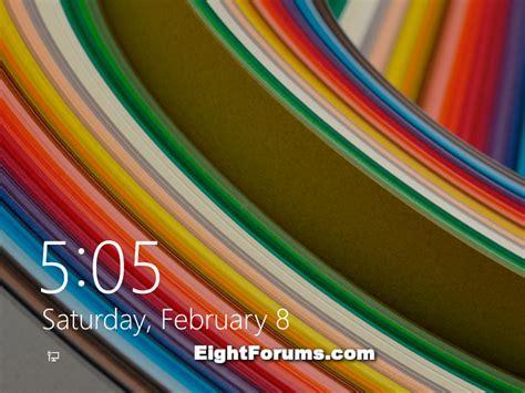 Windows 10 Default Lock Screen Images