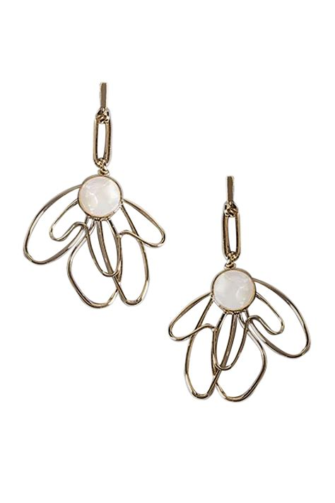 Marks And Spencer Oval Drop Earrings by Buy Marks Spencer Autograph Scribble Flower Drop