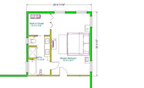 bedroom and bathroom addition floor plans the executive master suite 400sq ft extensions simply