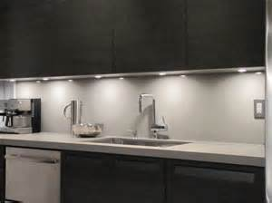 cabinet lighting kitchen modern with caesarstone