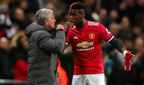 paul pogba s rollercoaster relationship man utd news only two people can solve mourinho and pogba