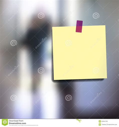 sticky wallpaper sticky notes wallpaper stock vector image 53944730