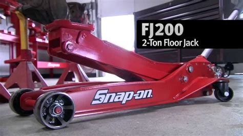 snap   ton floor jack  fj video