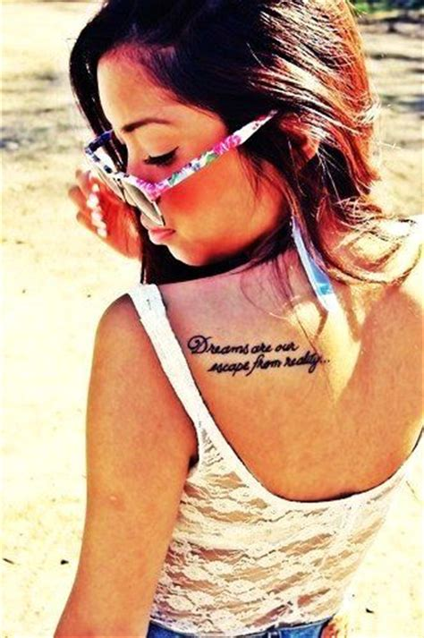 sexy shoulder tattoos shoulder quote tattoos for