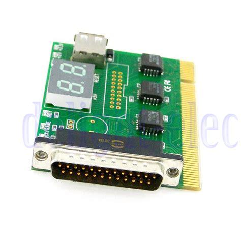parallel port test pci parallel port motherboard diagnostic test card pcb