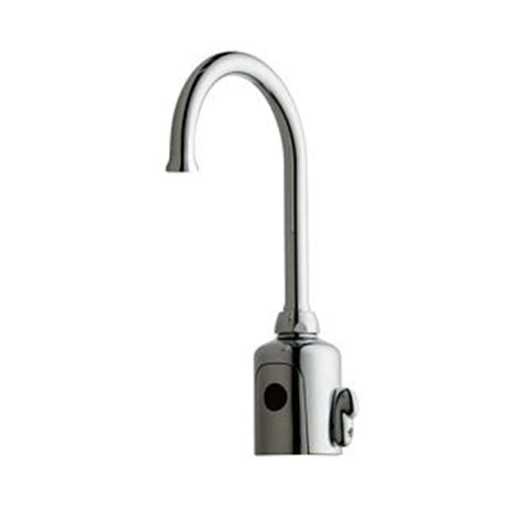 Auto Shut Faucet by Faucet 116 597 Ab 1 In Chrome By Chicago Faucets
