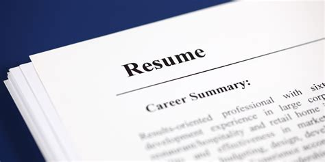 5 Resume Mistakes by 5 Resume Mistakes That Sabotage Your Search Huffpost