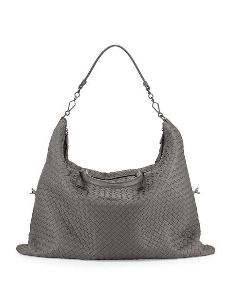 Bottega Veneta Woven Briefcase by Bottega Veneta Maxi Convertible Woven Tote Bag In Gray Lyst